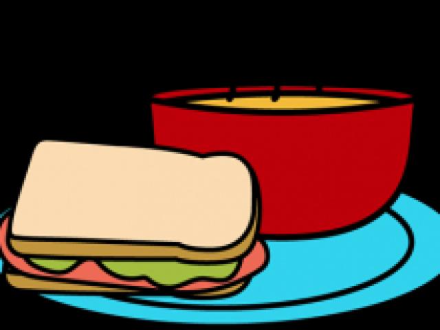 Sandwich clip art free. Soup clipart soup lunch