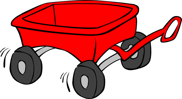 Wagon clipart toy wagon. Pin on clip art