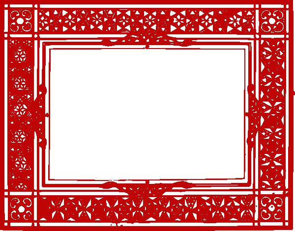 Red frame png. Border transparent picture mart