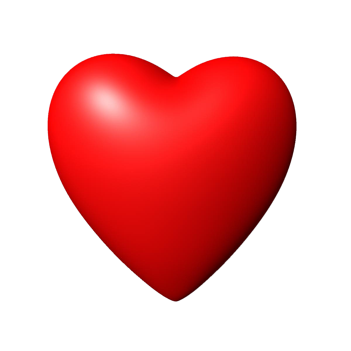 d heart image. Red hearts png