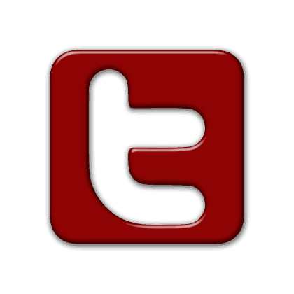 Red twitter png. Logo y yoga