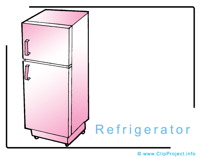 Image clip art free. Refrigerator clipart