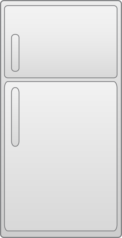 Simple design free clip. Refrigerator clipart