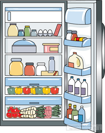 Fridge clipart. Search results for refrigerator