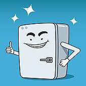 Portal . Refrigerator clipart happy