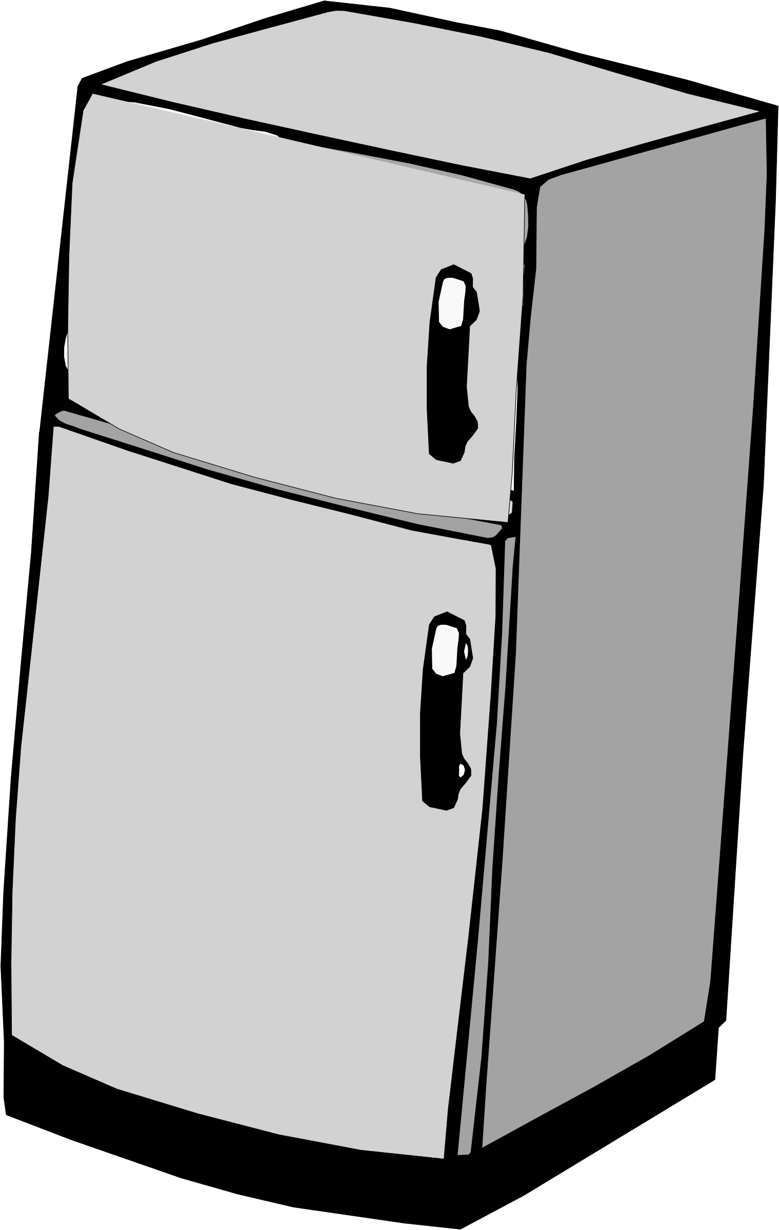 Refrigerator clipart ice box. Icons png free and