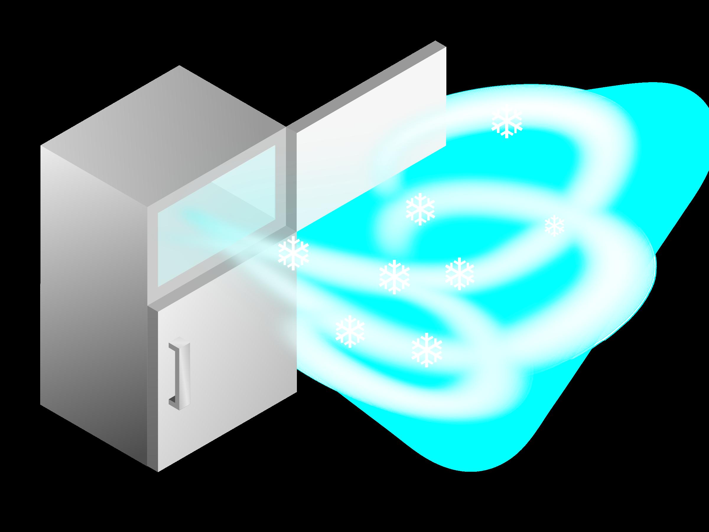 Big image png. Refrigerator clipart ice box