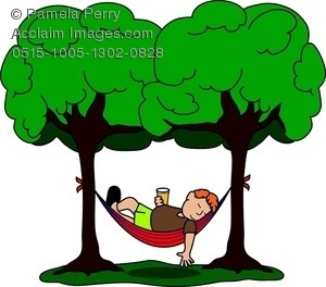 In hammock printable and. Relaxing clipart
