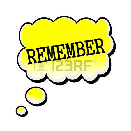 Clip art collection jpg. Remember clipart