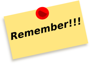 Remember clipart. Free cliparts download clip