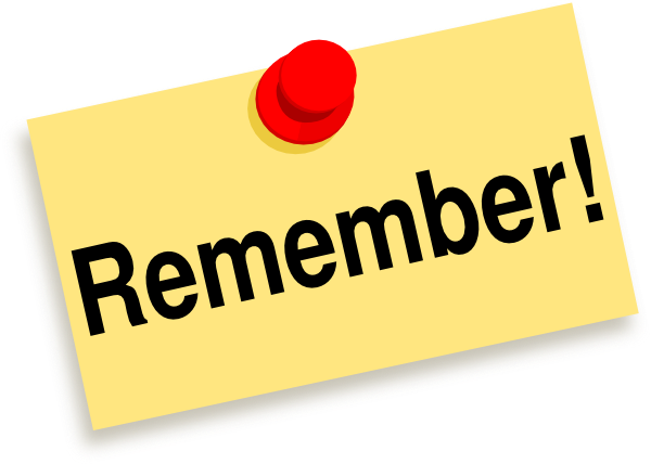 Remember clipart. Free pictures clipartix