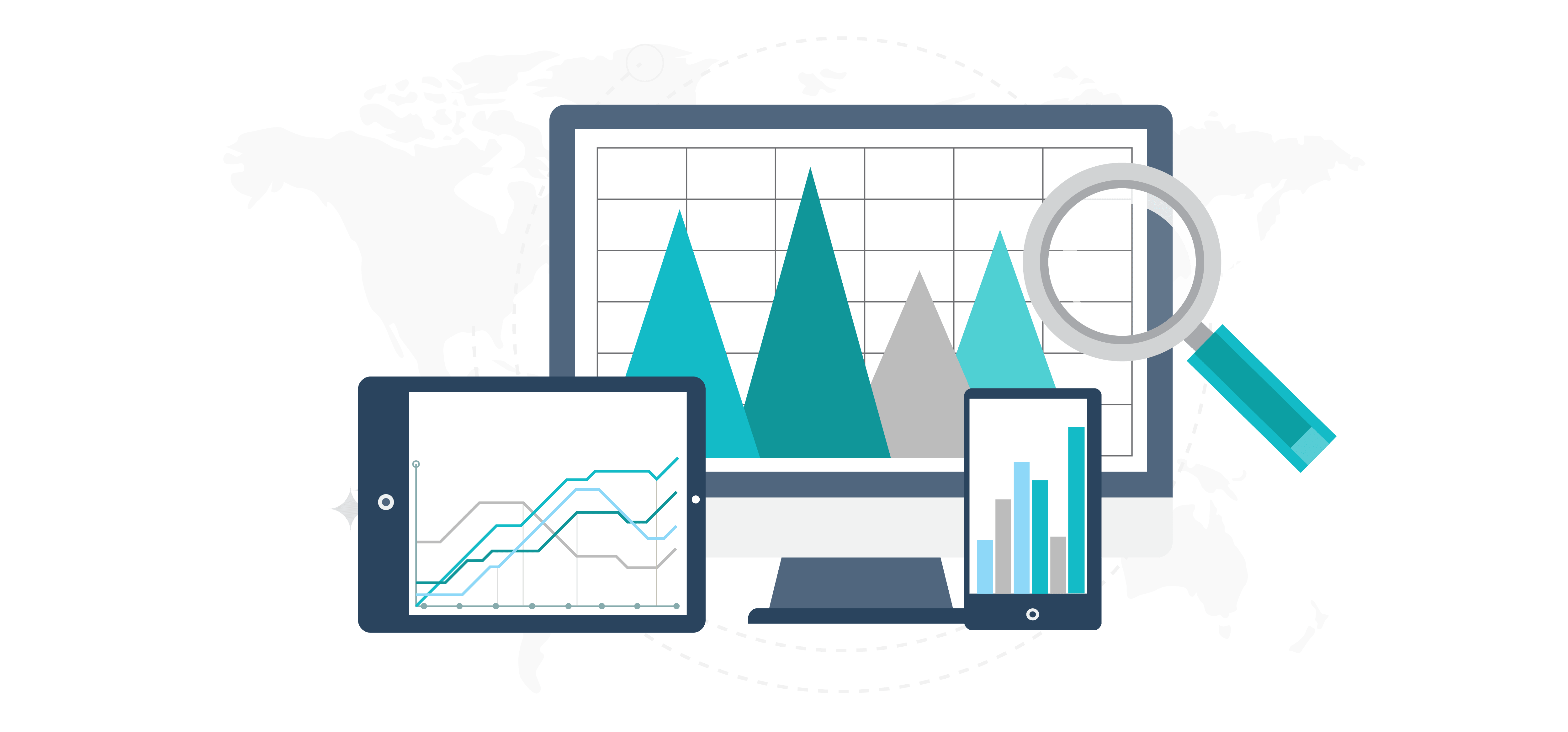 Digital marketing campaign idea. Report clipart action plan