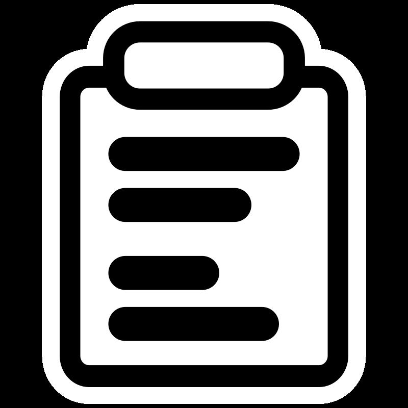 Mono kdeprint medium image. Report clipart clip art