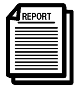 report clipart data collection