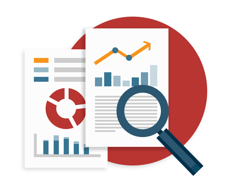 Report clipart data collection. Market intelligence loop software