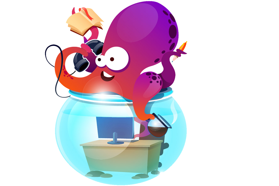 Floctopus online office for. Working clipart paper works