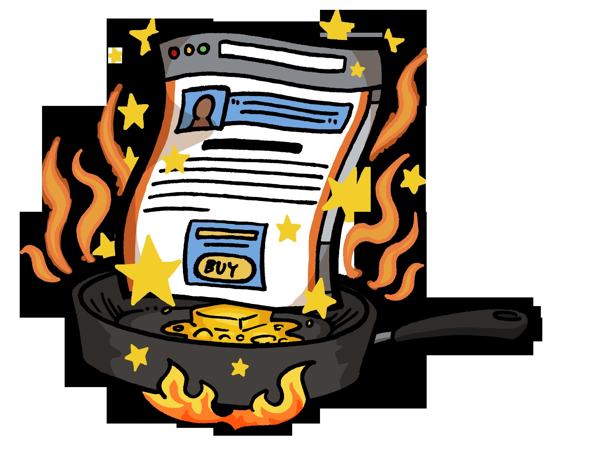 Writer clipart copywriter. Sales page coaching critique