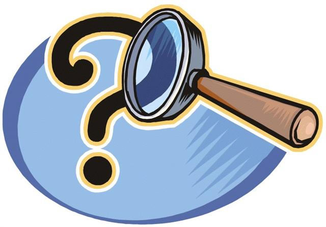 Research clip art free. Mystery clipart source
