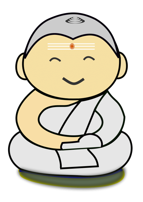 Buddha at getdrawings com. Respect clipart buddhist priest