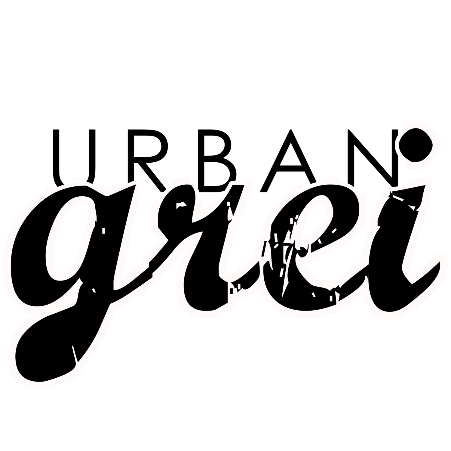 Sweatshirts urban grei. Respect clipart calligraphy