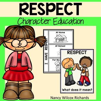 Respect clipart character education. Activities social story