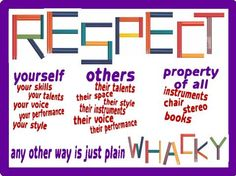 respect clipart classroom quote
