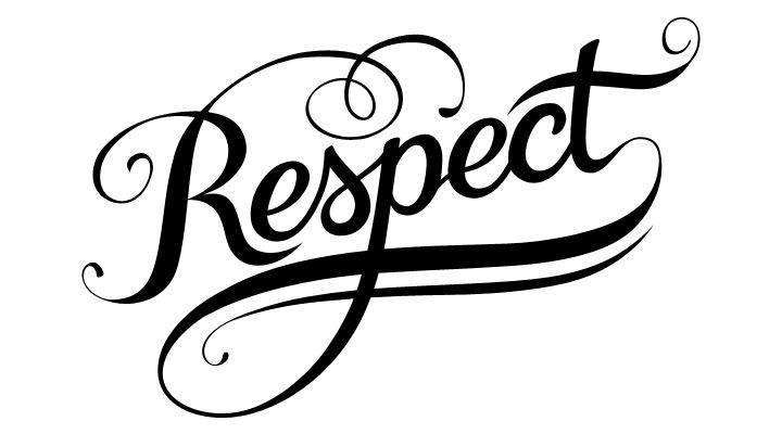 Respect clipart cursive. Sylvina kasa sylvinak on