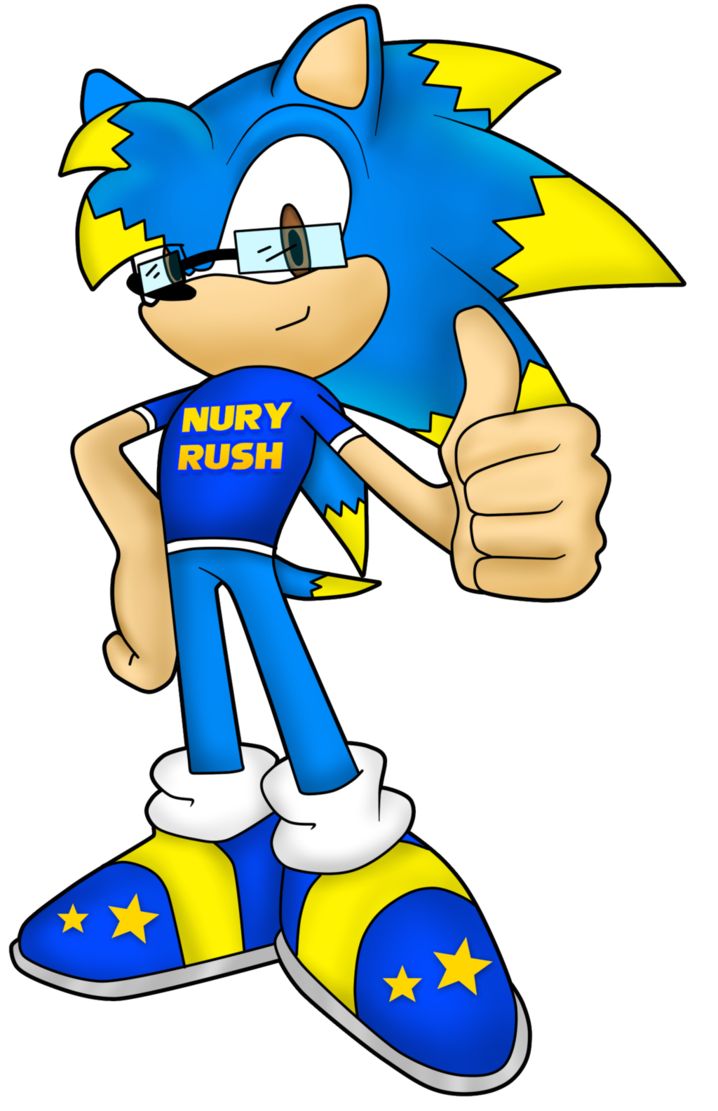 Nury the hedgehog by. Working clipart don t rush