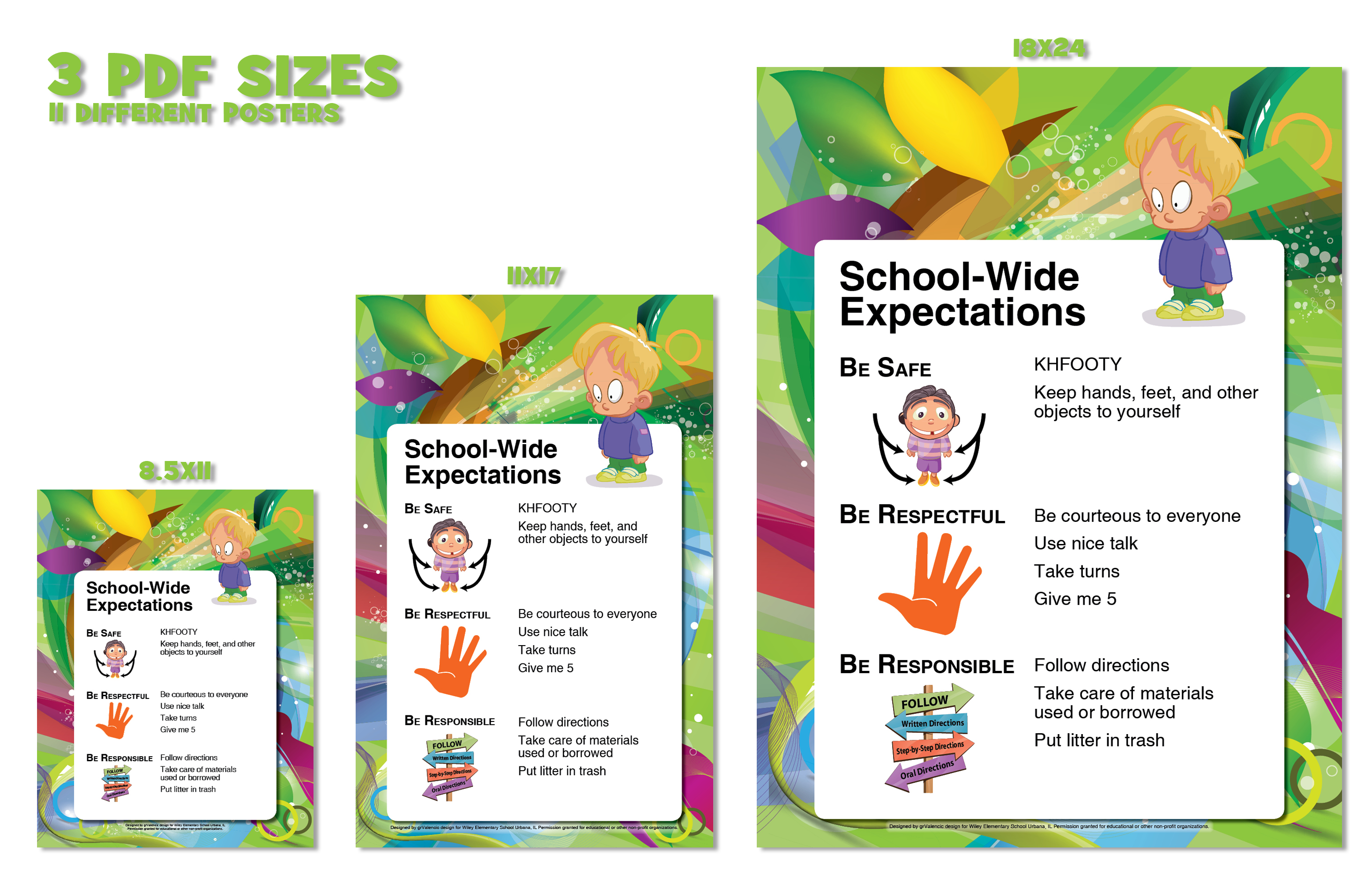 Respect clipart pbis. March posters