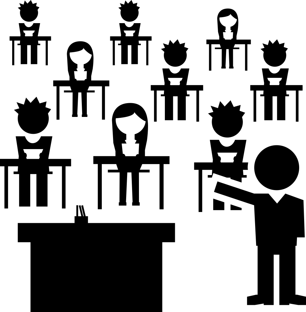Classroom with students and. Respect clipart student group