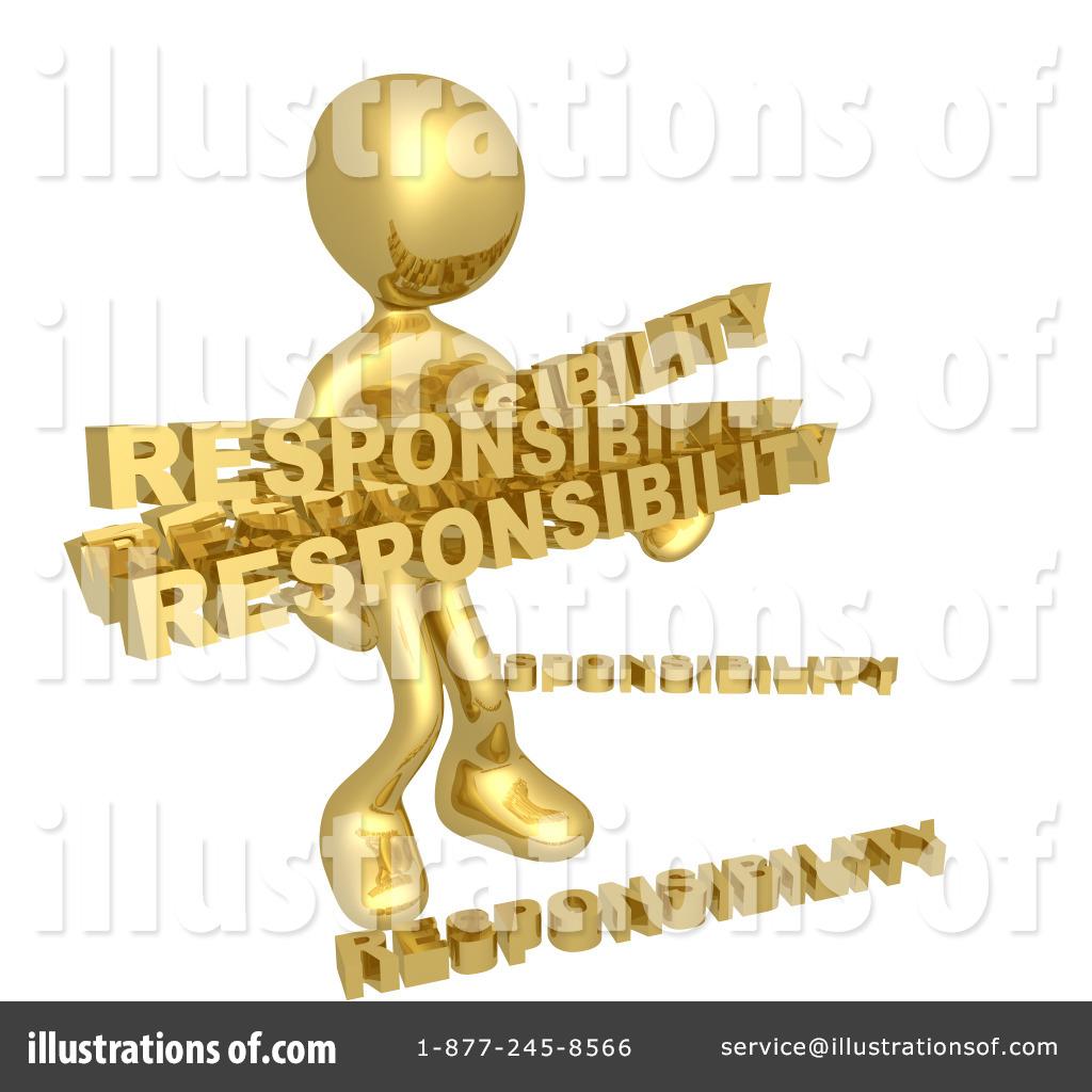 Illustration by pod royaltyfree. Responsibility clipart