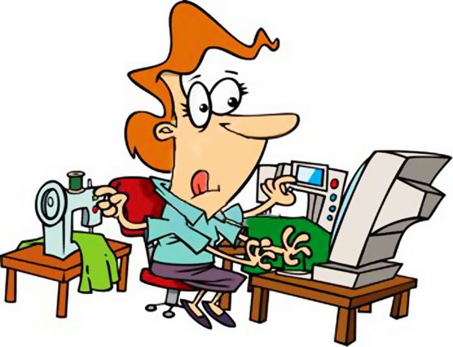 I m the negativity. Responsibility clipart busy person