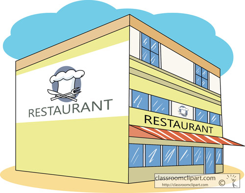 restaurants clipart