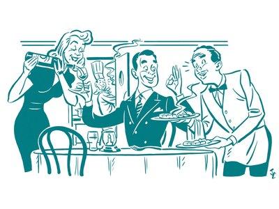 Restaurants clipart bad restaurant. The new rules of