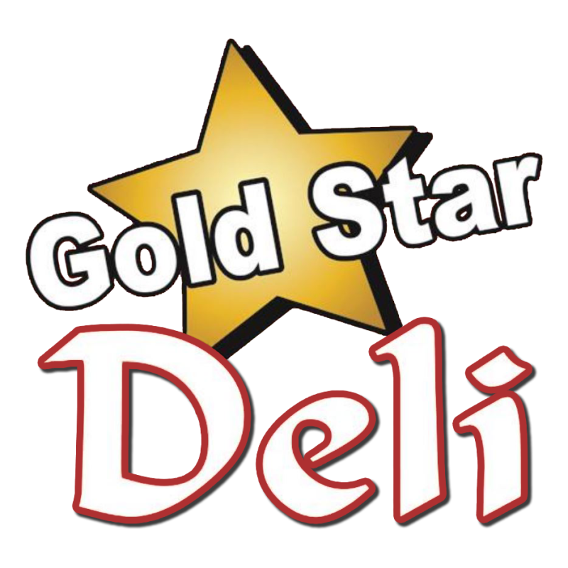 Gold star grill delivery. Restaurants clipart deli shop