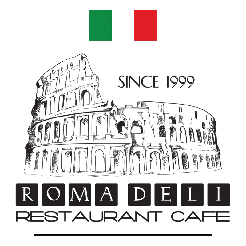 Roma restaurant delivery spring. Restaurants clipart deli shop