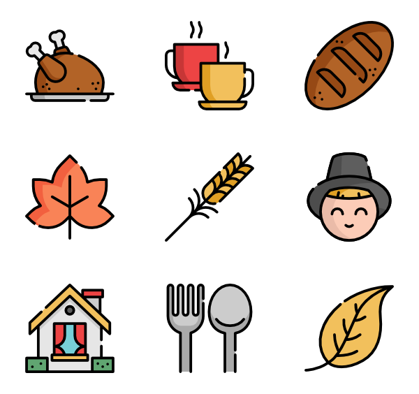 Restaurants clipart dinner banquet. Icons free vector thanksgiving
