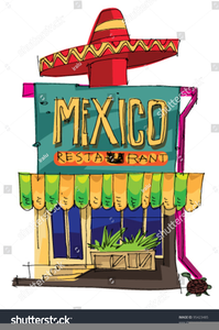 Restaurants clipart restaurant host. Mexican free images at