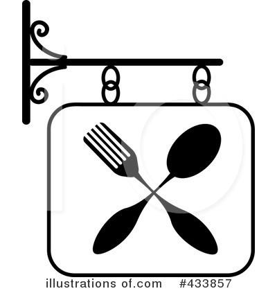 Restaurant sign illustration by. Restaurants clipart tool