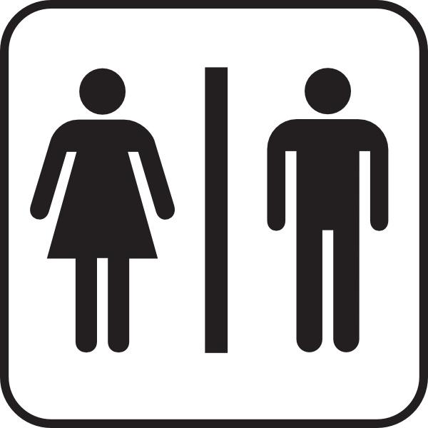 Men women bathroom clip. Bath clipart woman