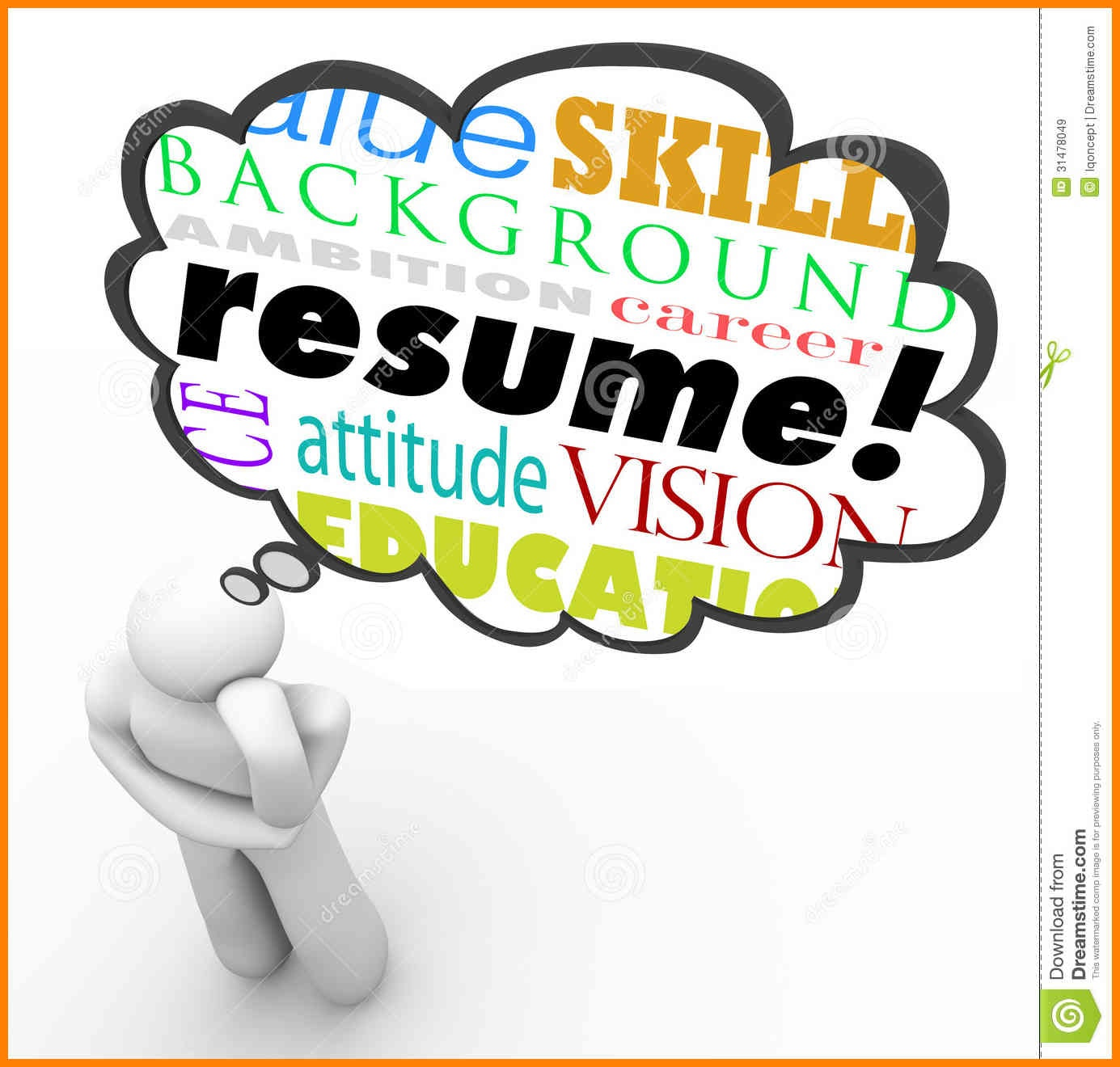 Resume clipart. For filename fix ablez