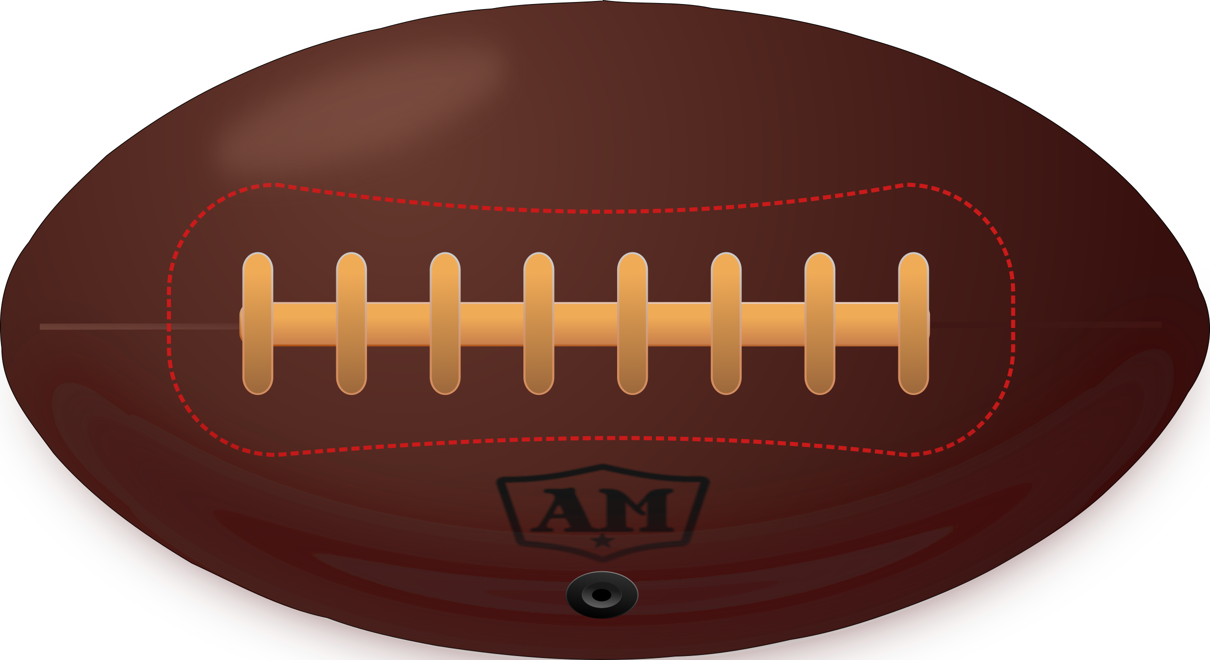 Vintage american football big. Retro clipart rugby