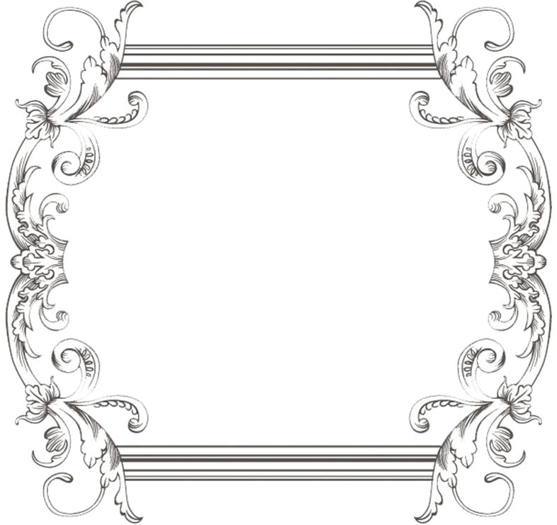 Custom vintage three by. Retro frame png