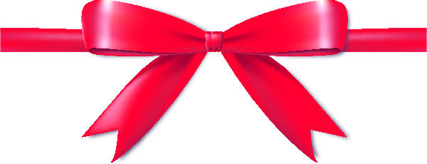 Pink bow icon data. Ribbon png vector