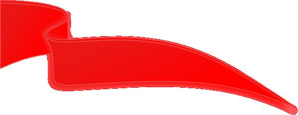 Ribbon png vector. Red clip art at