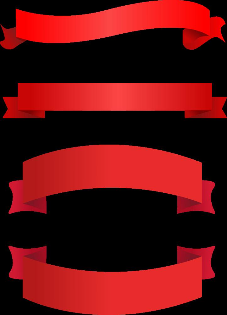 Ribbon vector png. Banner clip art transprent