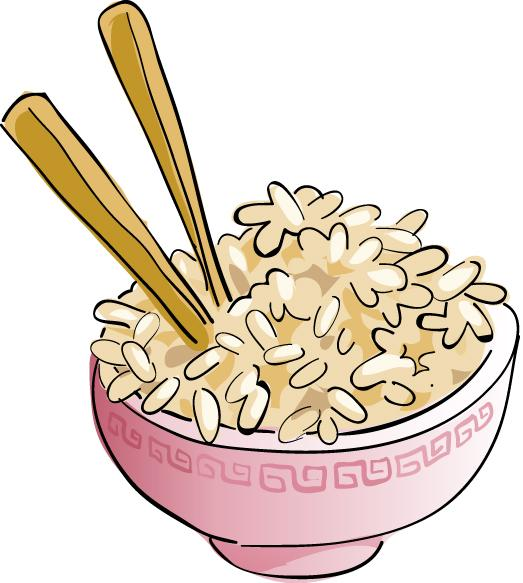 Free . Rice clipart