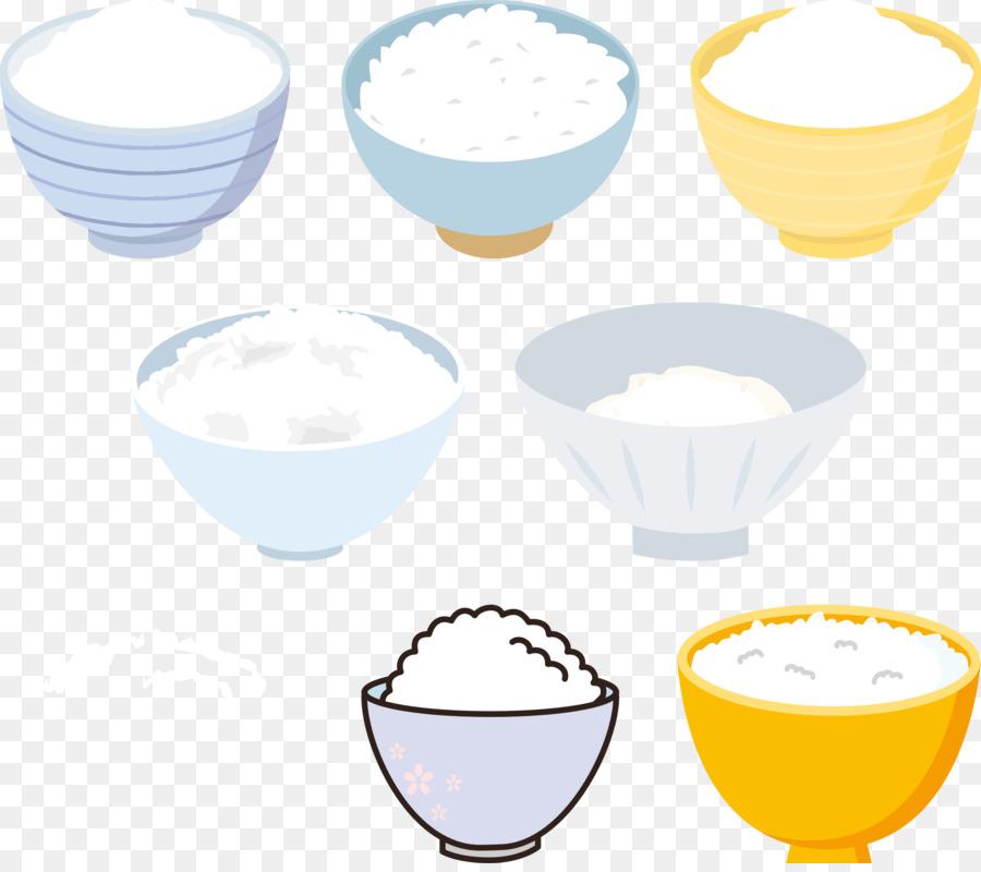Rice clipart cup rice. Cartoon food yellow transparent