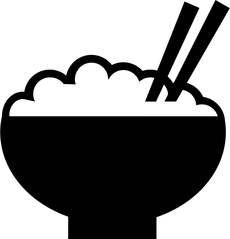 Steamed svg png icon. Rice clipart rice cultivation