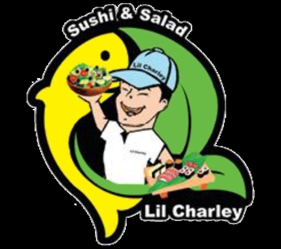 Tuna clipart charlie. Lil charley sushi salad